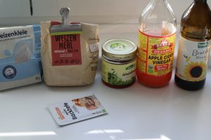 whole wheat bread ingredients